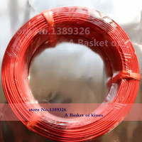 New Infrared Heating Floor Heating Cable System Of 2 3mm PTFE Carbon Fiber Wire Electric