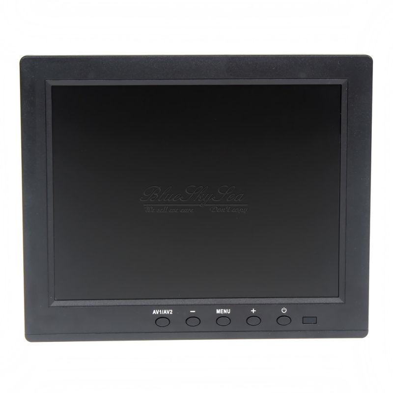 Free Shipping!Eyoyo HD 8 TFT LCD Color Monitor 1204*768 VGA BNC Video Audio For PC,CCTV Cam,VCD,DVD 8 inch lcd monitor color screen bnc tv av vga hd remote control for pc cctv computer game security