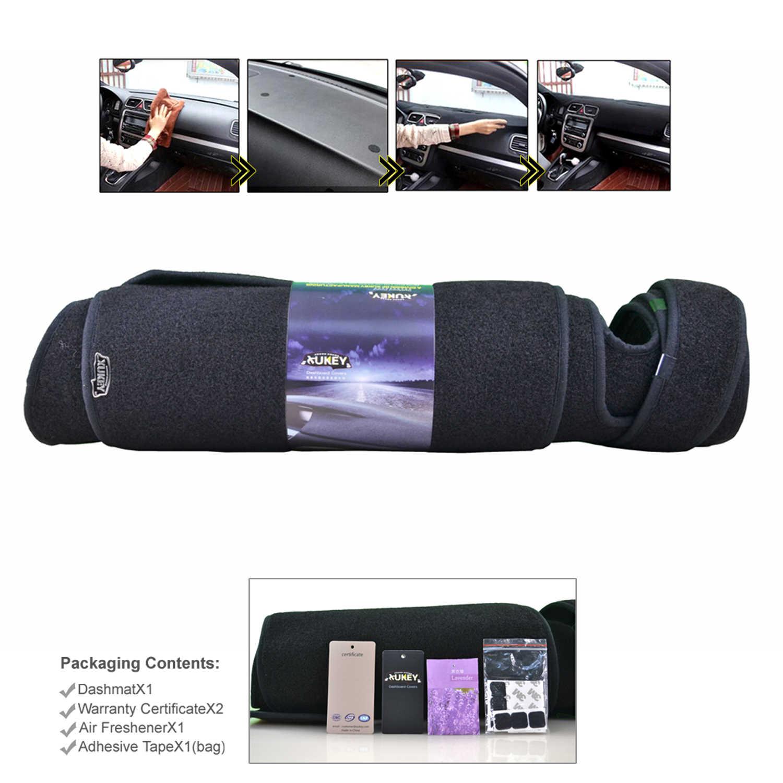 Dash Mat Dashboard Cover Dashmat Cocok untuk Chevrolet Pinggiran Kota Tahoe Avalanche Silverado GMC Yukon Sierra 2007-2013 Dash Board