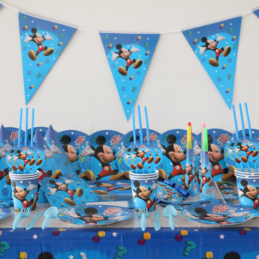 Compare prices on birthday decoration items online for Baby mickey mouse decoration