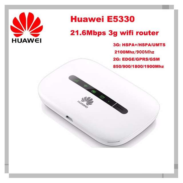 US $29 59 42% OFF|Unlocked HUAWEI E5330 Mobile 3g WiFi router MiFi Hotspot  3G Modem HSPA pk e5331 e5336 e5372 E5220 mf91 mf90-in 3G/4G Routers from