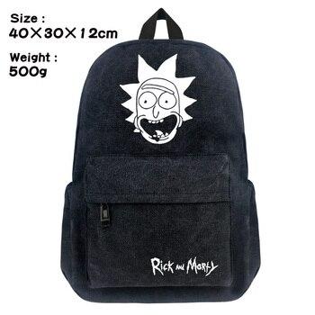 Брезентовый рюкзак Рик и морти 1