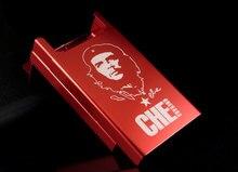 Personalisierte ultradünne automatische zigarettenetui Rot Che Guevara Laifu marke männlichen metall e zigaretten boxen laser design für immer