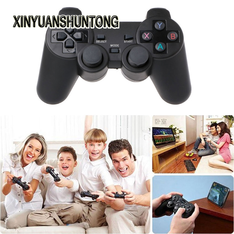 XINYUANSHUNTONG Game Accessory 2.4G Wireless Controller Gamepad + Micro USB OTG Adapter For PS3 for Phone TV