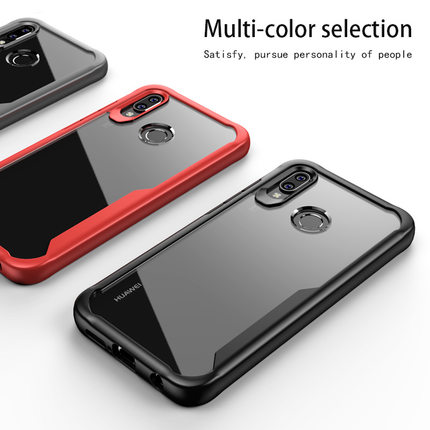 sale retailer 07bf1 e5129 US $3.23 19% OFF|For Huawei Nova 3 3i Case Soft Silicone+Transparent PC  Armor Protective Back cover Case for huawei nova 3i Full Cover shell-in  Fitted ...