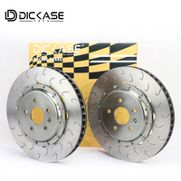 Brake Rotor J hook disc pattern for CP8520 brake caliper for vw golf 7 wheel size 19