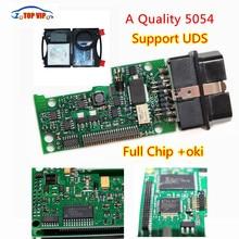 2017 A + VAS5054 Tam Çip + OKI chip + Daha Istikrarlı Bluetooth VAS 5054A ODIS 3.0.3 Moudle Destek ÜDS Protokolü teşhis aracı