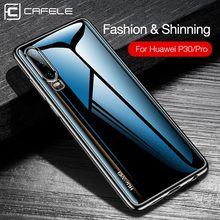 CAFELE Silicone Plating Case For Huawei P30 Transparent Back Protector Ultra Thin Soft TPU Phone Cover for