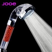 JOOE ducha SPA насадка для душа высокого давления экономии воды, душ фильтр хромированный круглый ручной насадки для душа chuveiros para banheiro