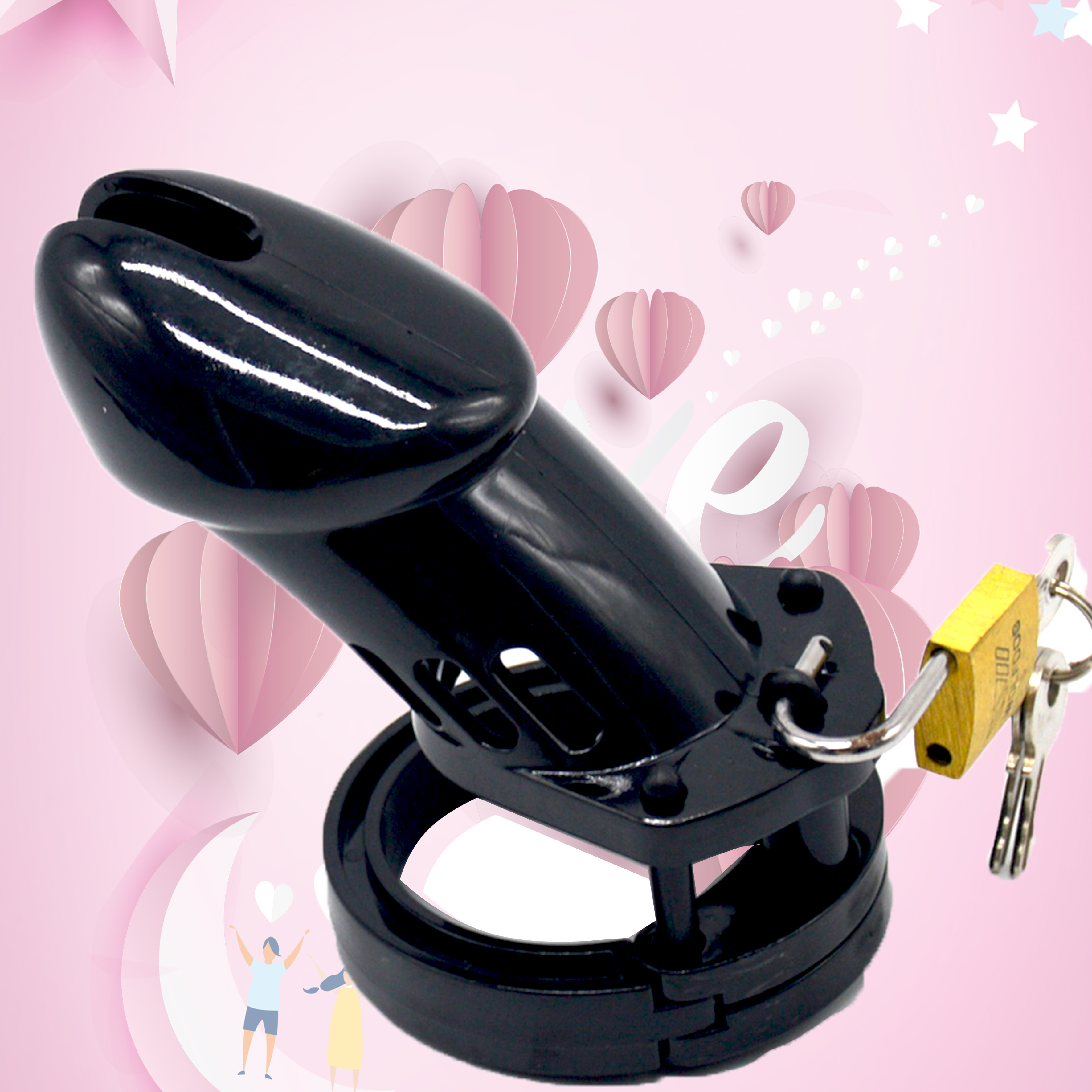 Chaste Bird FactoryCB6000 Price Electro Shock Male Chastity Device Cock Cage With Adjustable Cuff Ring Adult