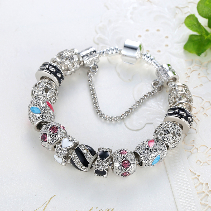 Βραχιόλια για τις γυναίκες Ασημένια - Κοσμήματα μόδας - Φωτογραφία 3