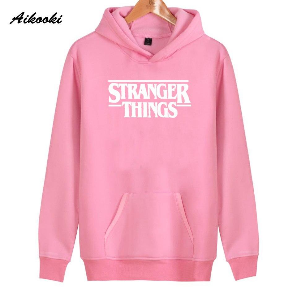 Hoodie Stranger Things Hoodies Sweatshirt women/men Casual Stranger Things Sweatshirts Women Hoodie Men's 38