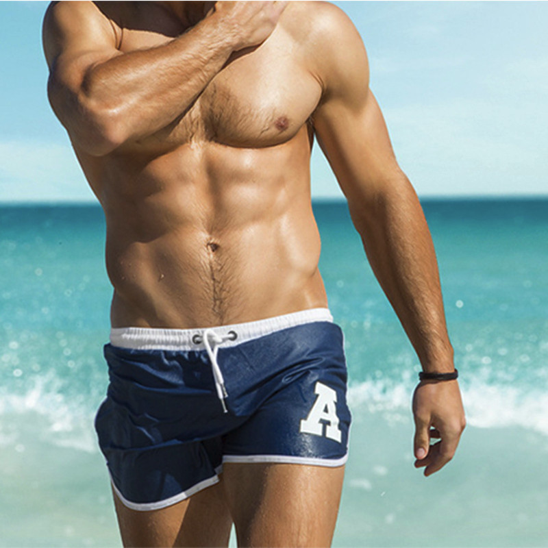 Cheap Price Womail Sexy Man Swimming Push-up Pad Swim Trunks Low Waist Swimming Gay Briefs Swimwear Boxers Patchwork Color Hot Sell Summer New Varieties Are Introduced One After Another Sports & Entertainment Swimming