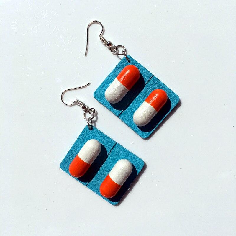 blue capsule