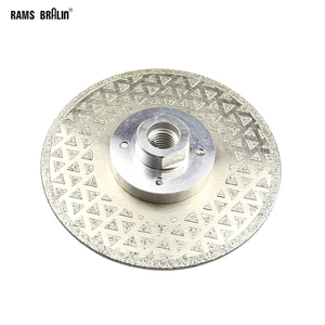 Image 2 - 115*M14*2.5mm Electroplated Diamond Cutting Blade Grinding Wheel for Granite Cut off & Finish on Angle Grinder Power Tool