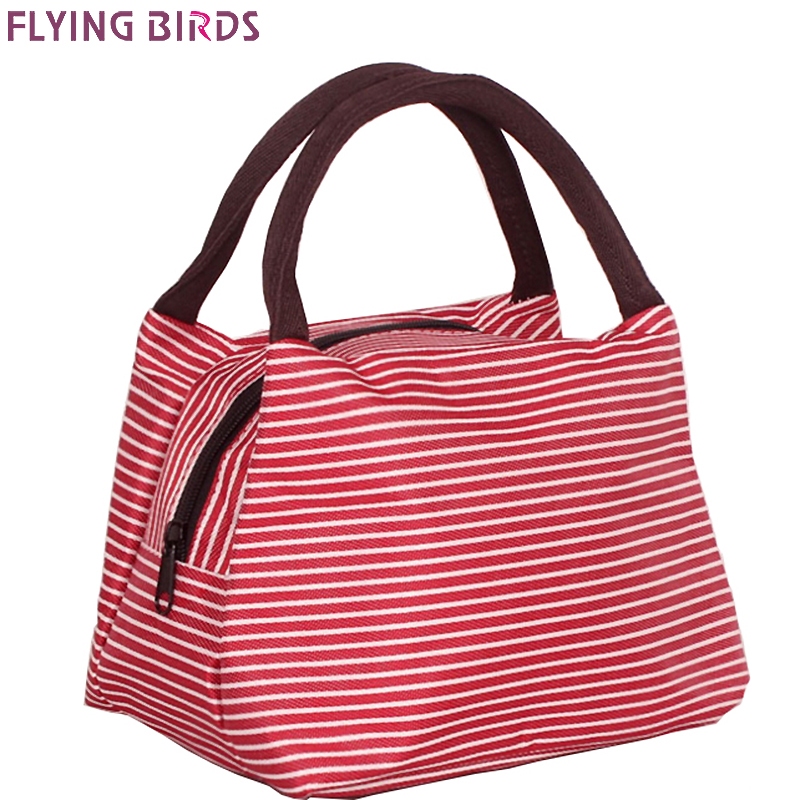 FLYING BIRDS designer bag for women canvas bag women lunch bags casual purse high quality handbags 2018 new women bags LS5254 cute cartoon women bag flower animals printing oxford storage bags kawaii lunch bag for girls food bag school lunch box z0