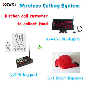 New Arrival Wireless Led Queue Display Restaurant Service Queue Management System