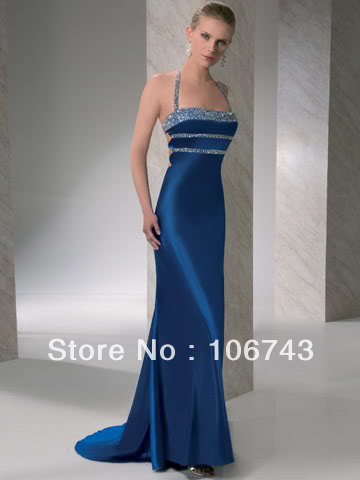 free shipping vestido longo Promotion Carpet Best New Style Sexy Brides Custom Size Beading party prom gown   bridesmaid     dresses