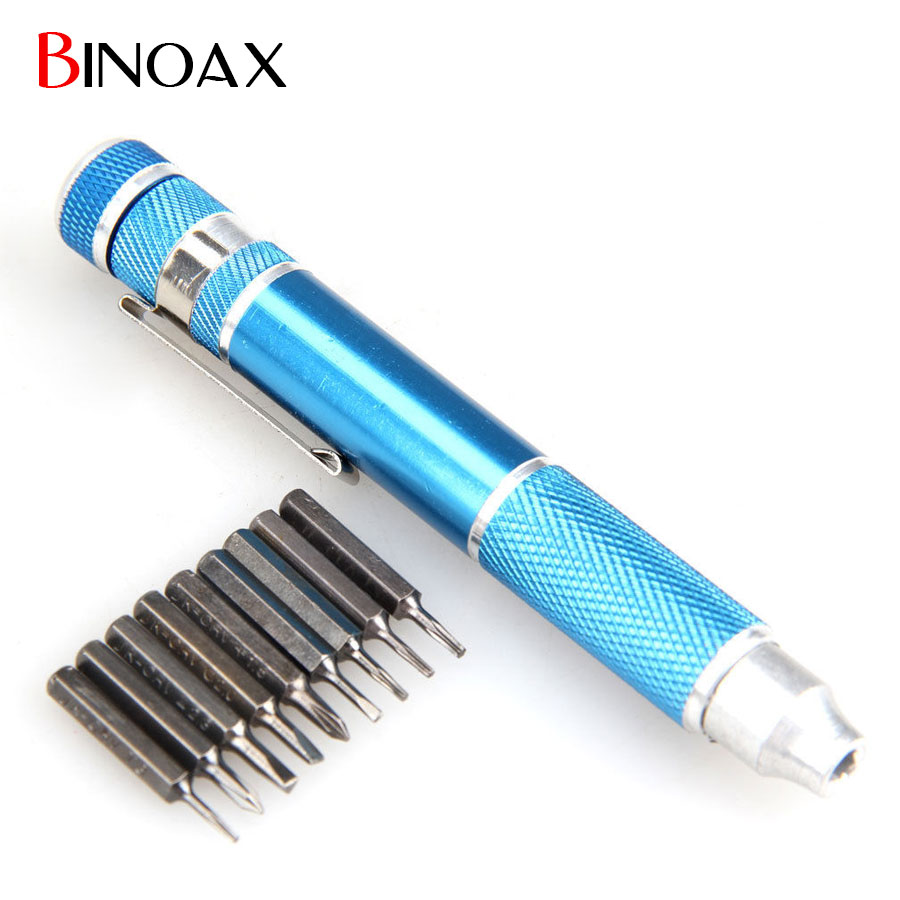 buy binoax 9 in 1 precision screwdrivers tool set with 8pc bits ideal for. Black Bedroom Furniture Sets. Home Design Ideas