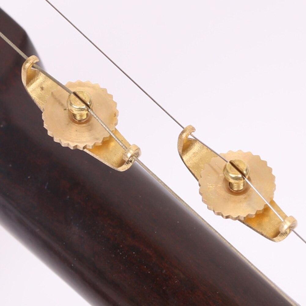 2PCS Accessory Lightweight Urheen Tuners Fine Tuning String Protable Erhu Trimmer