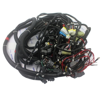 PC220-6LC External Wiring Harness For Komatsu Excavator Outer Wire Cable , 3 month warranty