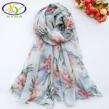 1PC Women Cotton Long Scarf Soft 2019 Spring New Thin Summer Lady's Viscose Shawls Sea Beach Covers Fashion Female Wraps