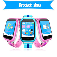 JM15 children's watch Russian English overseas version touch children GPS positioning watch hot smart wearable device