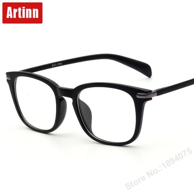 Полный кадр TR обычная стекло простой ретро плоское зеркало моды диких анти излучения очки кадр металлические очки кадры M51015