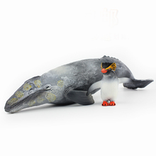 Wiben Sea Life Sperm Whale Gray Whale Simulation Animal Model Action & Toy Figures Learning & Educational Gift for Kids