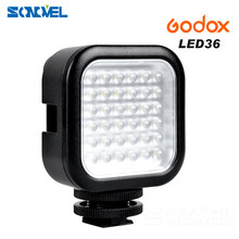 Godox LED Video Luce 36 Luci LED Lampada di Illuminazione Fotografica Luce Foto All'aperto per Nikon Canon Sony Fotocamera Digitale Camcorde(China)