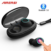 Newest TWS wireless Earphone Bluetooth 5.0 Touch Mini Sports earphones 3D Stereo Earbuds Headset pk i20 i60 i80 tws mi airdots