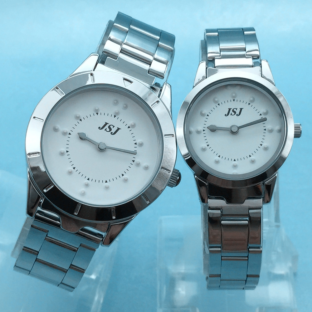Stainless Steel Tactile Watch…