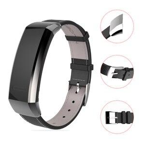 Image 2 - Mijobs pasek do Huawei Band 2 Pro B29 B19 zespół 2 akcesoria skórzany nadgarstek inteligentna bransoletka wielofunkcyjny inteligentny zegarek opaska
