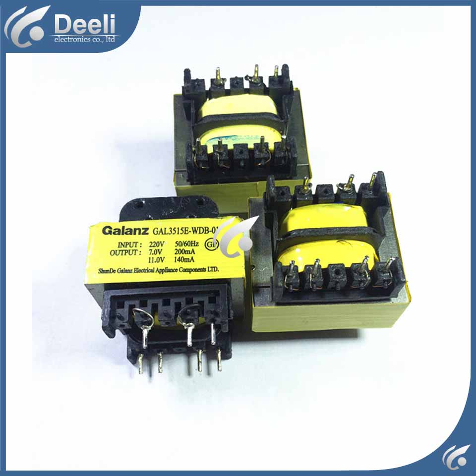 1pcs Microwave oven computer board transformer GAL3515E-WDB-01 wire universal board computer board six lines 0040400256 0040400257 used disassemble