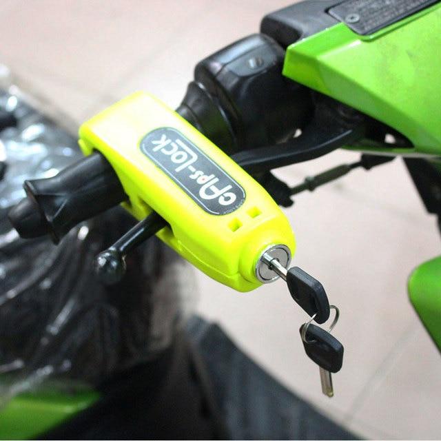 Nuoxintr Universal Motorcycle Handlebar Lock Motocross Handle Theft Protection Lock Brake scooter Throttle Grip Security Lock