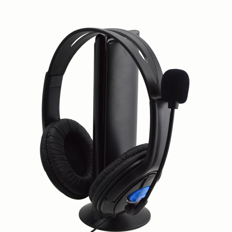 EC2 HIPERDEAL Fashion Bluetooth Headset Wired Gaming Headset Headphones With Microphone For Sony PS4 Play Jul3