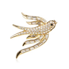 Vintage Grasshopper Brooches for Women Cute Insect Brooch Pin Hot Sale Winter Coat Accessories High Quality Gift