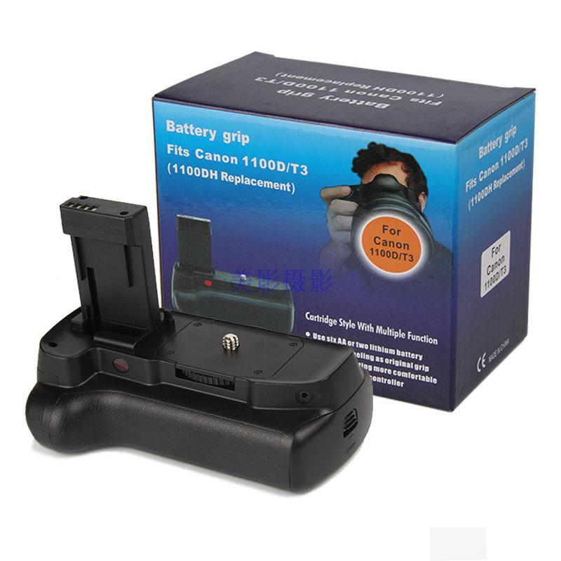 Poignée de batterie Multi puissance professionnelle pour Canon 1100D 1200D 1300D EOS rebelle T3 T5 T6 Kiss X50 appareil photo reflex numérique