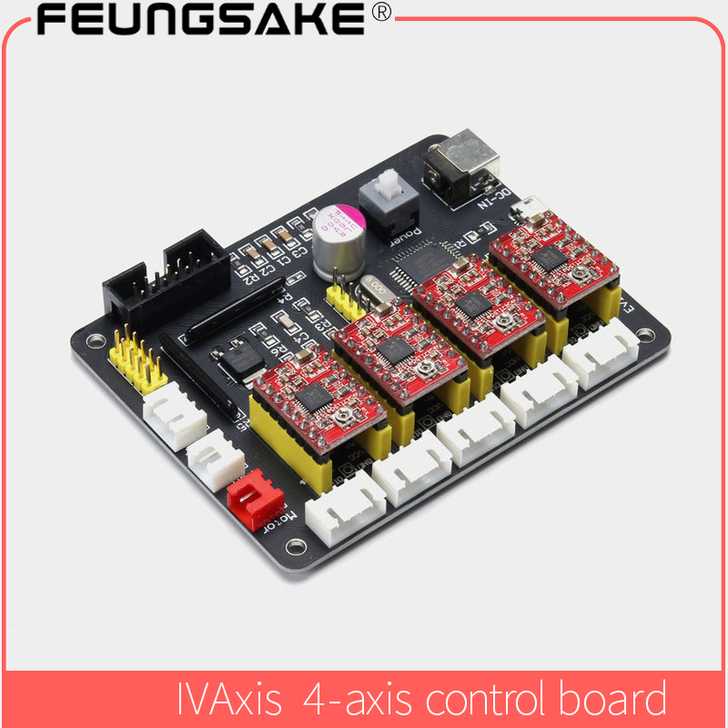 USBCNC controller 3 axis+4 Axis 4 Wire Stepper Motor Controller Board Mainboard for cnc router cnc wood router controlboard все цены