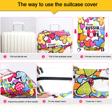 Travel Elastic Protective Covers for Suitcase (18-32 inch)