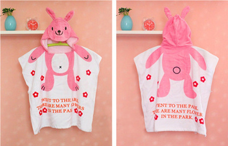 New-Baby-Boys-Girls-Pajamas-Autumn-Summer-Children-Cotton-Animal-funny-bathrobe-Tower-blanket-Kid-SleepwearT0018 (1)