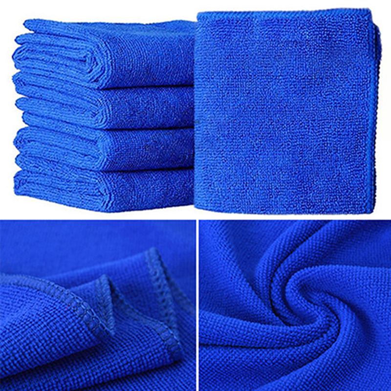 Auto care 5 pack car microfiber glass cleaning towels for Glass cleaning towels