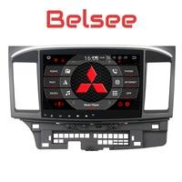 Belsee для Mitsubishi Lancer Android 8,0 радио Восьмиядерный головное устройство 2 Din стерео аудио gps навигации системы 4 + 32 ГБ видео плеер
