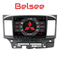 Belsee for Mitsubishi Lancer Android 8.0 Radio Octa Core Head Unit 2 Din Stereo Audio GPS Navigation System 4+32GB video Player