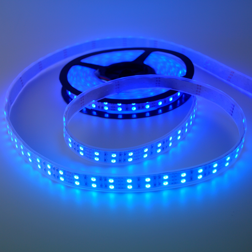 Warm White Flexible Color Festival Decoration Led Strip Light Waterproof IP67 Dimmable Cuttable 120LEDs m 5m