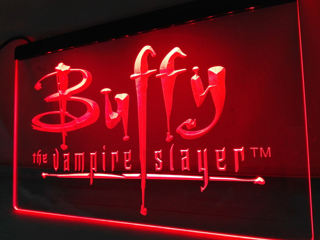 LC137  Buffy The Vampire Slayer Movie LED Neon Light Sign Home Decor Crafts