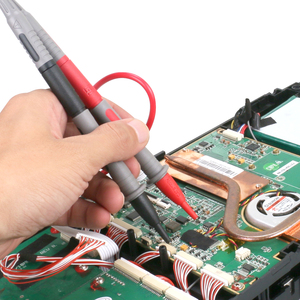 Image 2 - 14PCS Electronic Specialties Test Lead kit Automotive Test Probe Kit Multimeter probe leads kit Banana plug   for multimeters