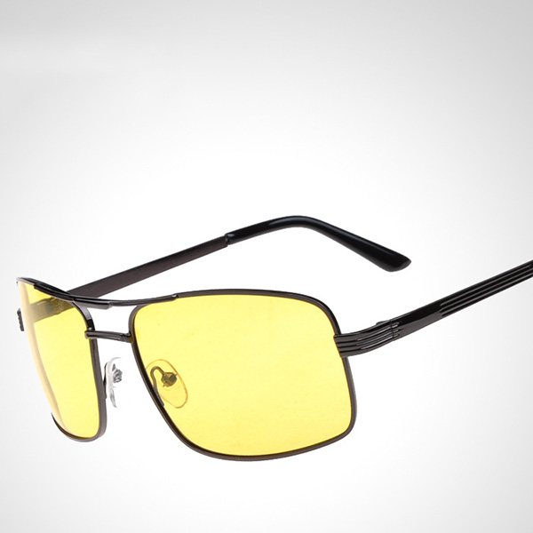 94d4c136a New Tide Fashion Mens Polarized Sunglasses Men Big Frame Double Beam Mirror  Sun Glasses Men Driving Mirrors Eyewear gafas de sol
