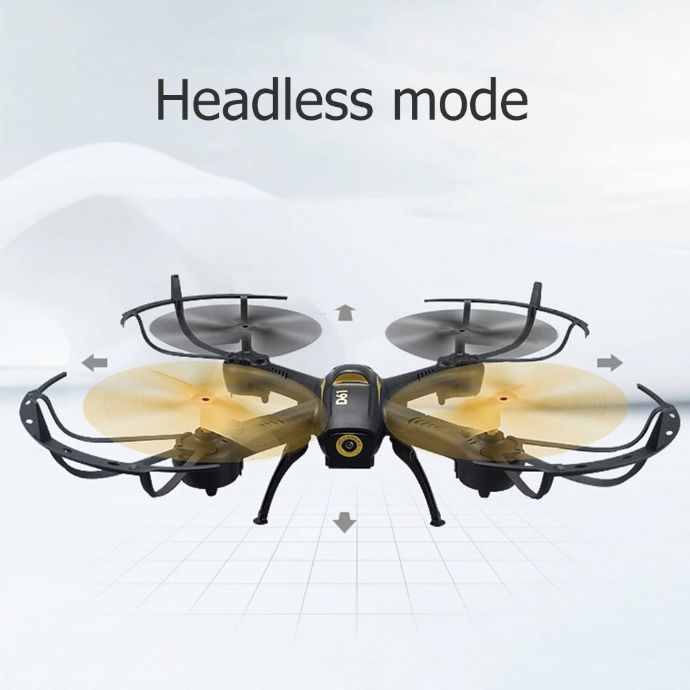Hoge kwaliteit RC Quadcopter WiFi Hoogte Houden Voice Control Drone met led verlichting Headless RC Helikopters - 2