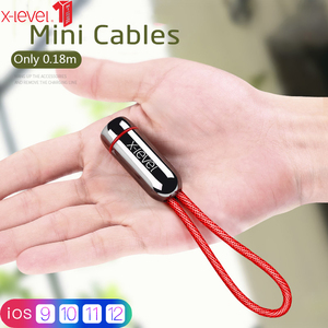 Image 1 - USB кабель X level для iPhone 11 pro Max X 8 7 6 Plus, кабель для быстрой зарядки и передачи данных для iPhone, зарядный кабель для Apple, Lightning кабель